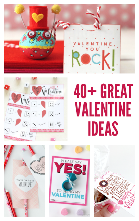 40+ Great Valentine's Day Ideas-Gifts, Decor, Parties and more!