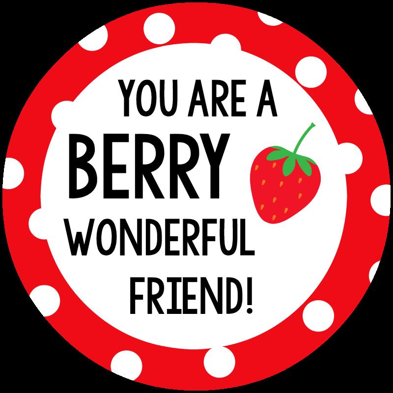 Berry Wonderful Friend Tag