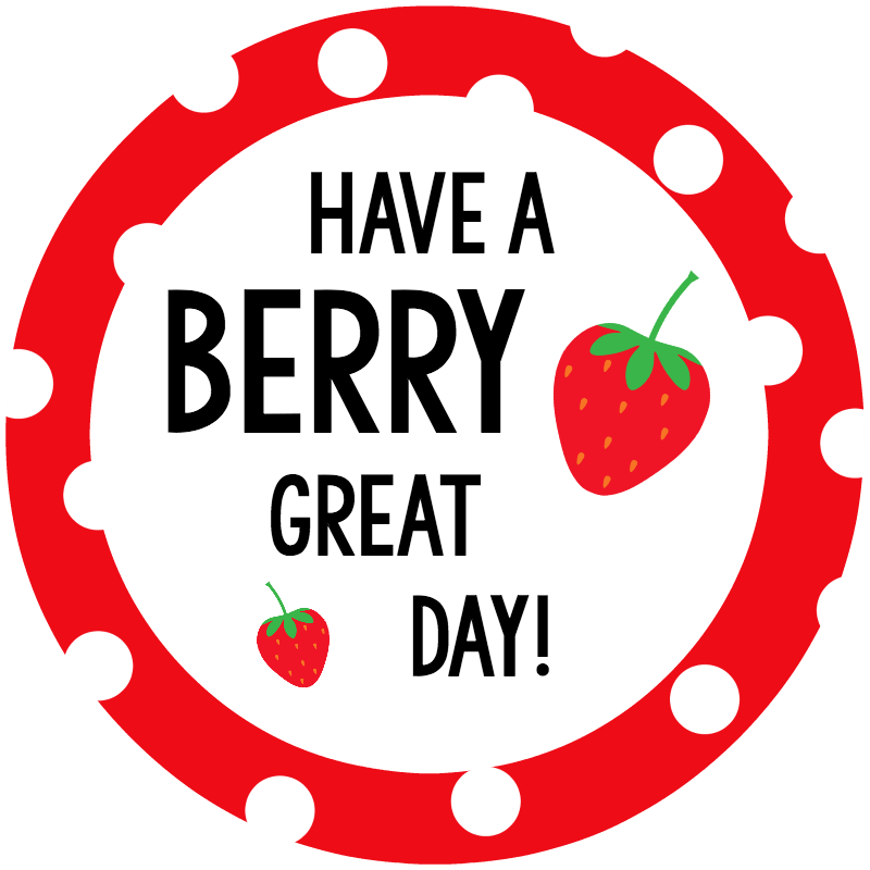Berry  Great Day Tag