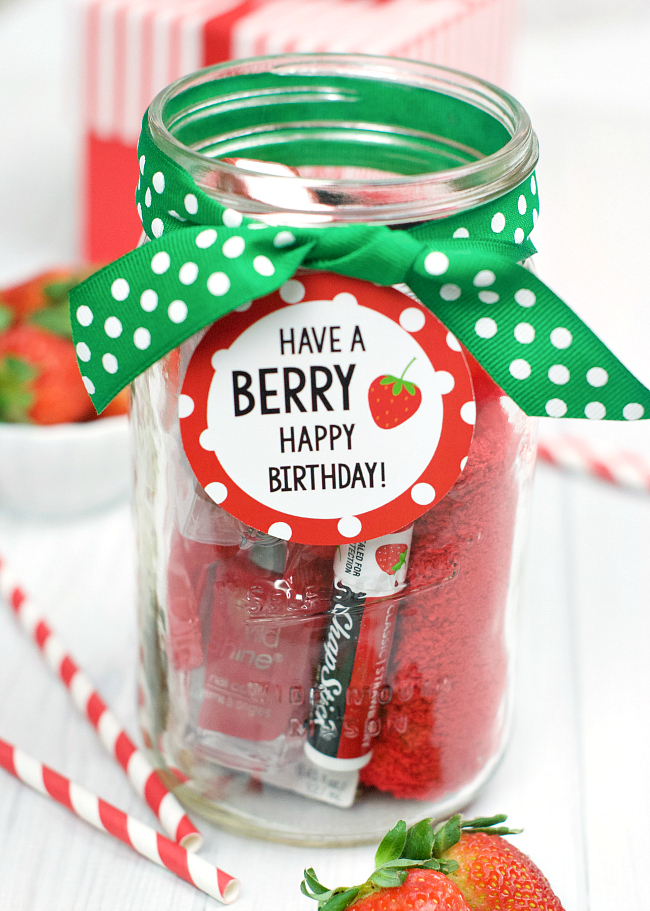 Have a BERRY Happy Birthday Gift Idea for Friends