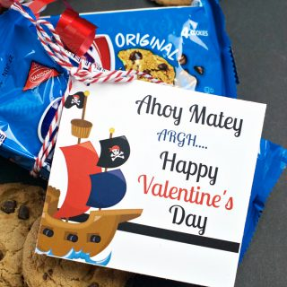 Chips Ahoy Valentines for Boys & Girls