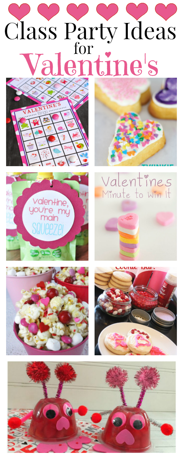 Class Party Ideas for Valentine's (Pinterest)