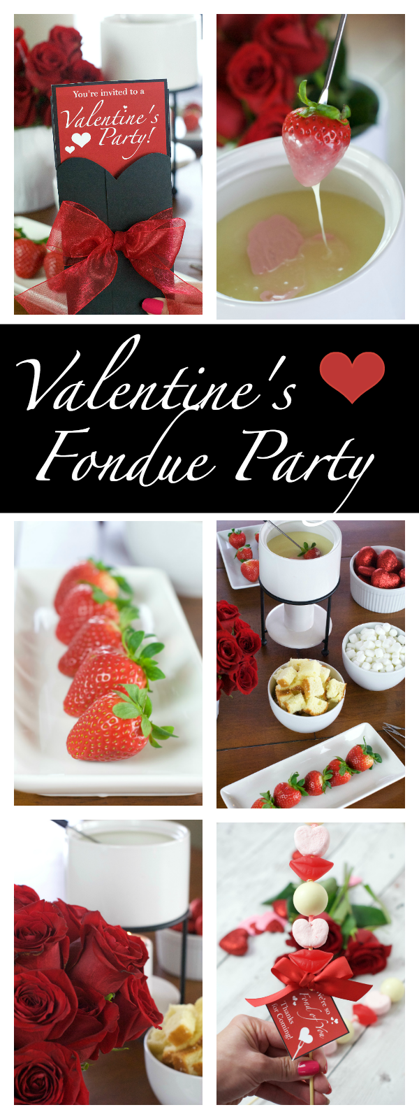 Valentine's Day Party for Couples: Fondue and Fun Couples Trivia Game...everything you need for a fun Valentine's Day party. Food, games, and fun...this Valentine's Day fondu party had it all! #fondue #valentinesparty #valentinesdayparty #couplestrivia #fondueparty