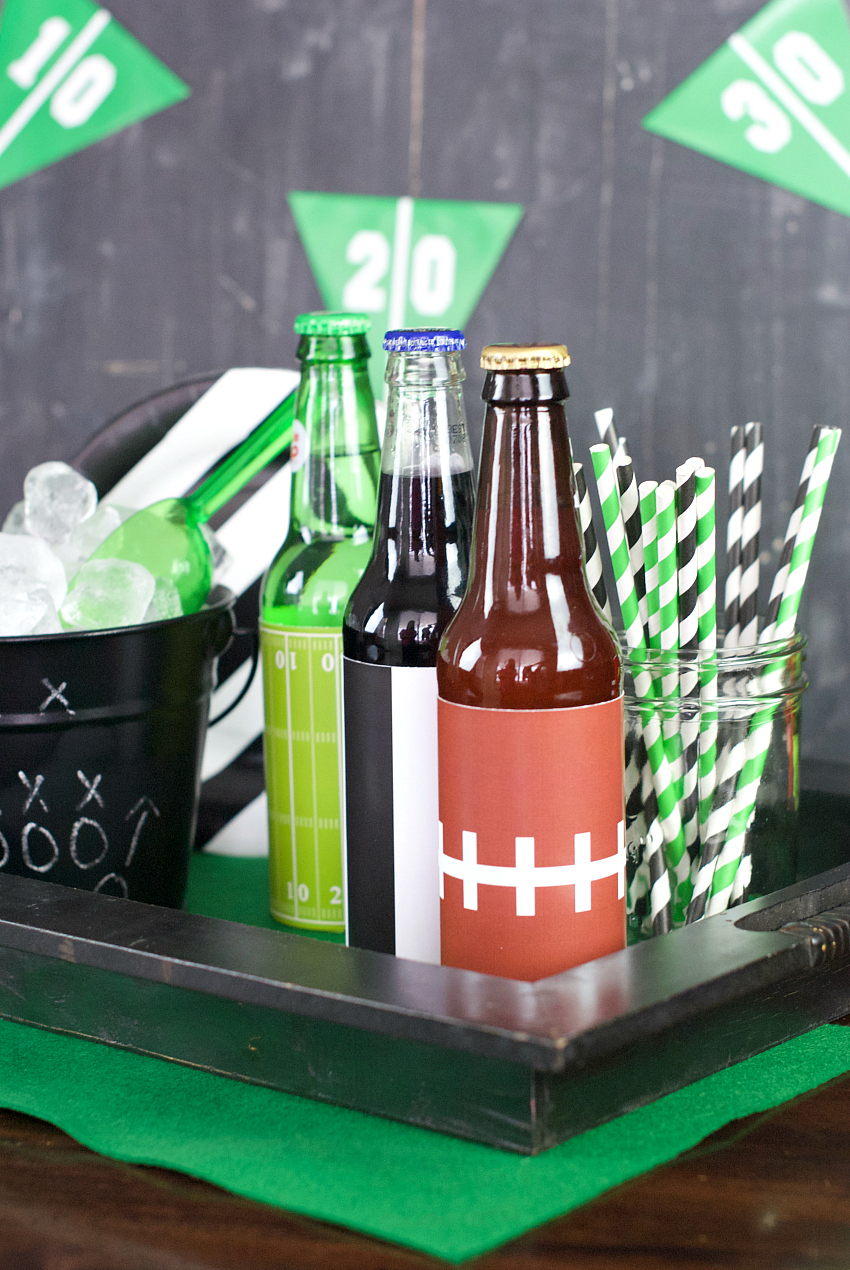 Football Drink Caddy for Game Day