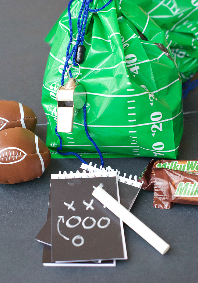 Ideas for Football Party Favors