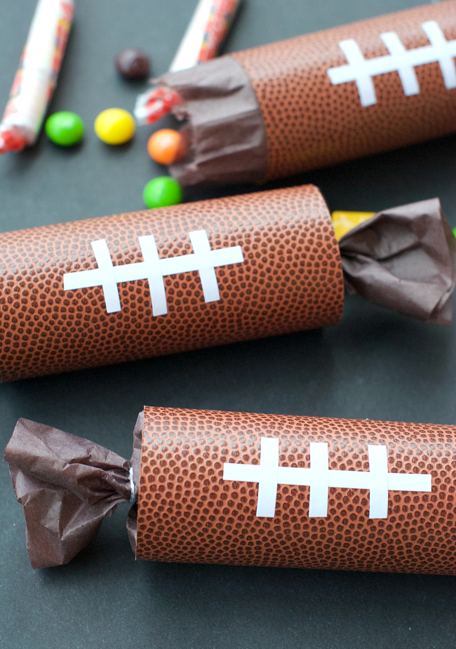 Football Party Favors-Party Poppers