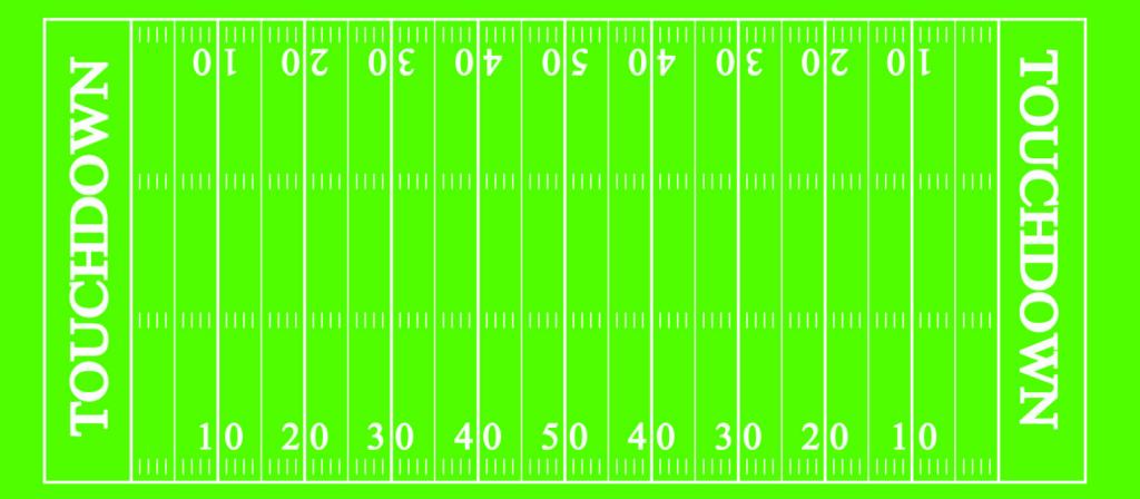 Football Field Drink Wrapper