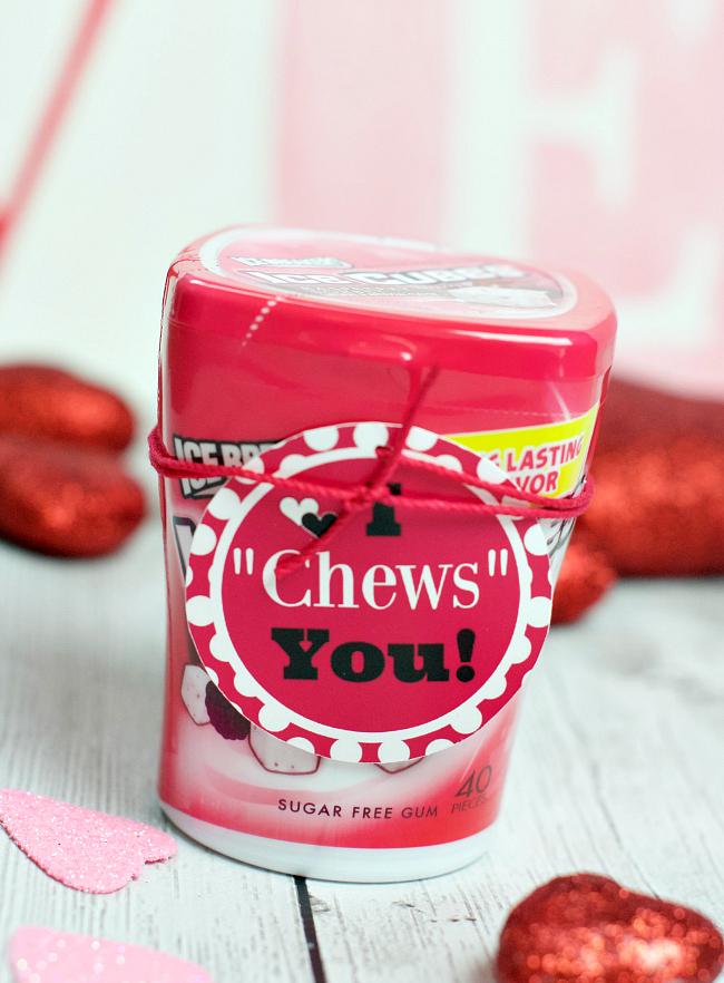 Gum Valentine's Idea