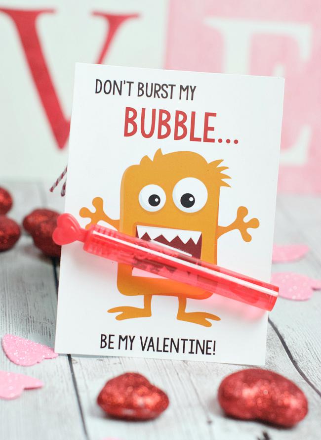 Easy Free Printable Valentine's Ideas
