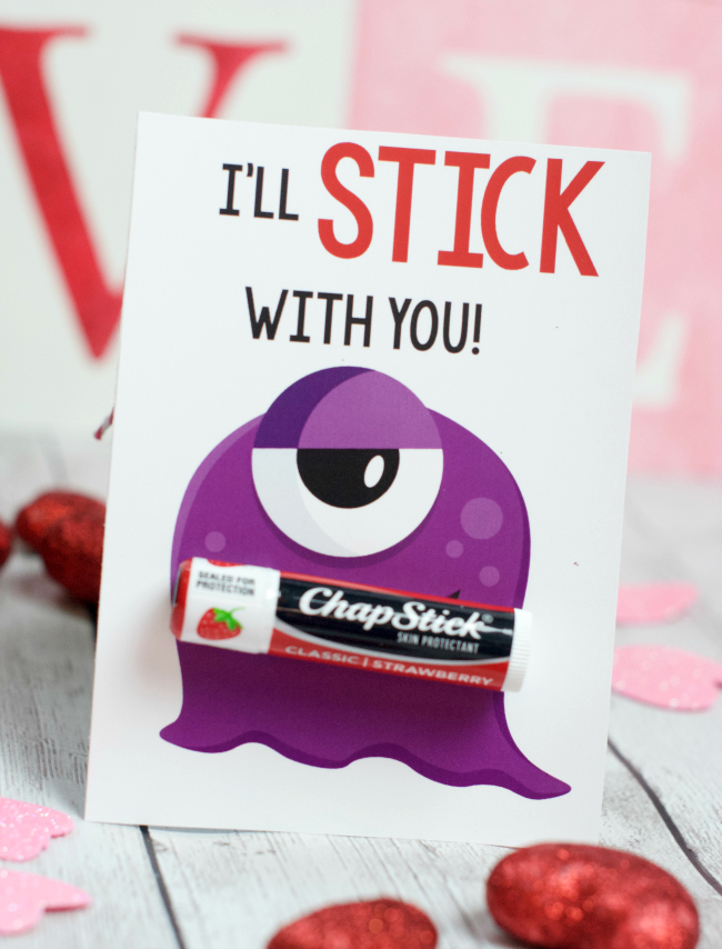 Cute Monster Valentines