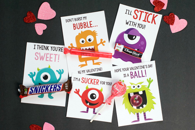 Kids Valentine Cards