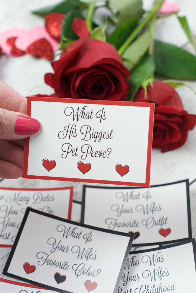 Printable Newlywed Game