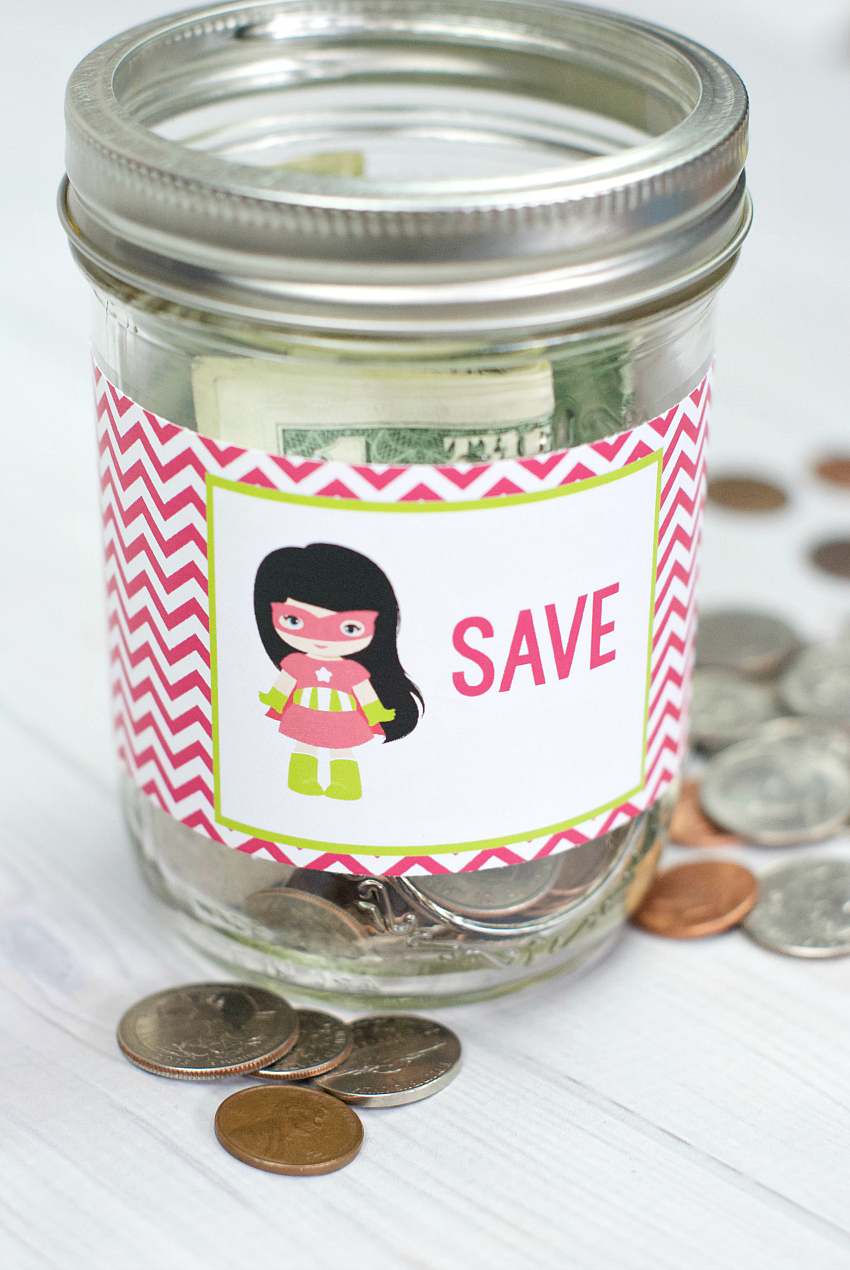 Piggy Bank in a Jar