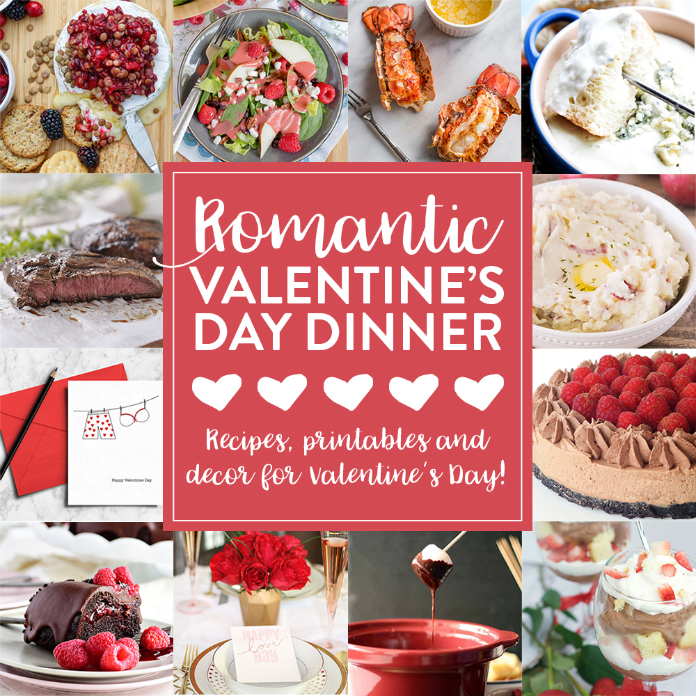 Romantic Valentine's Dinner Ideas