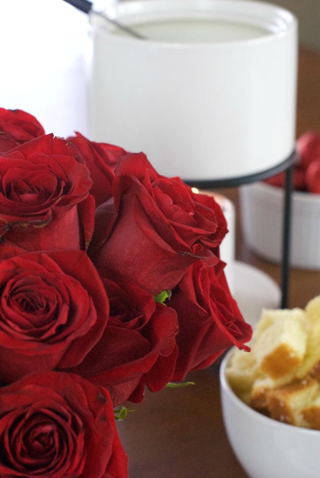 Rosesfondue