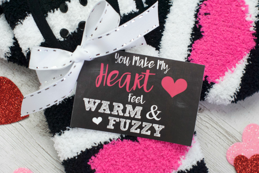 Socks Valentine's Gift Idea for Kids or Friends