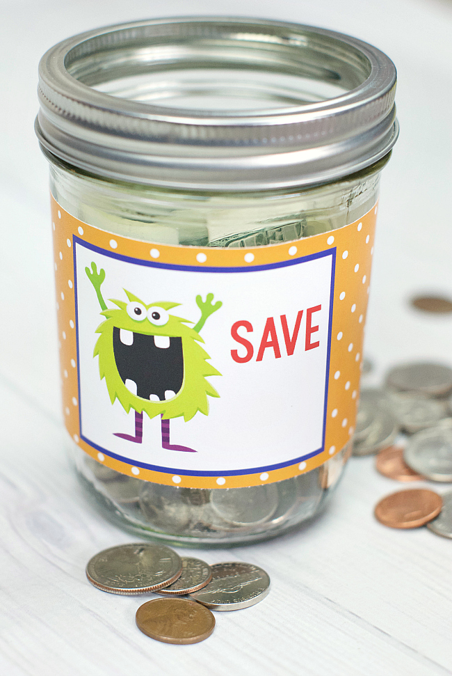 Fun Kid's Piggy Bank Idea