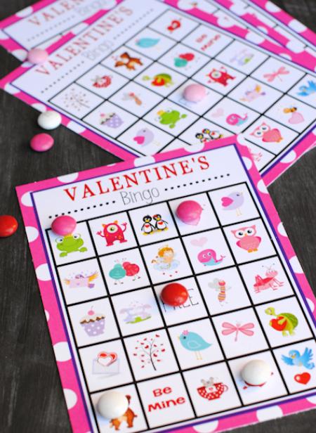 Valentine's Bingo Game
