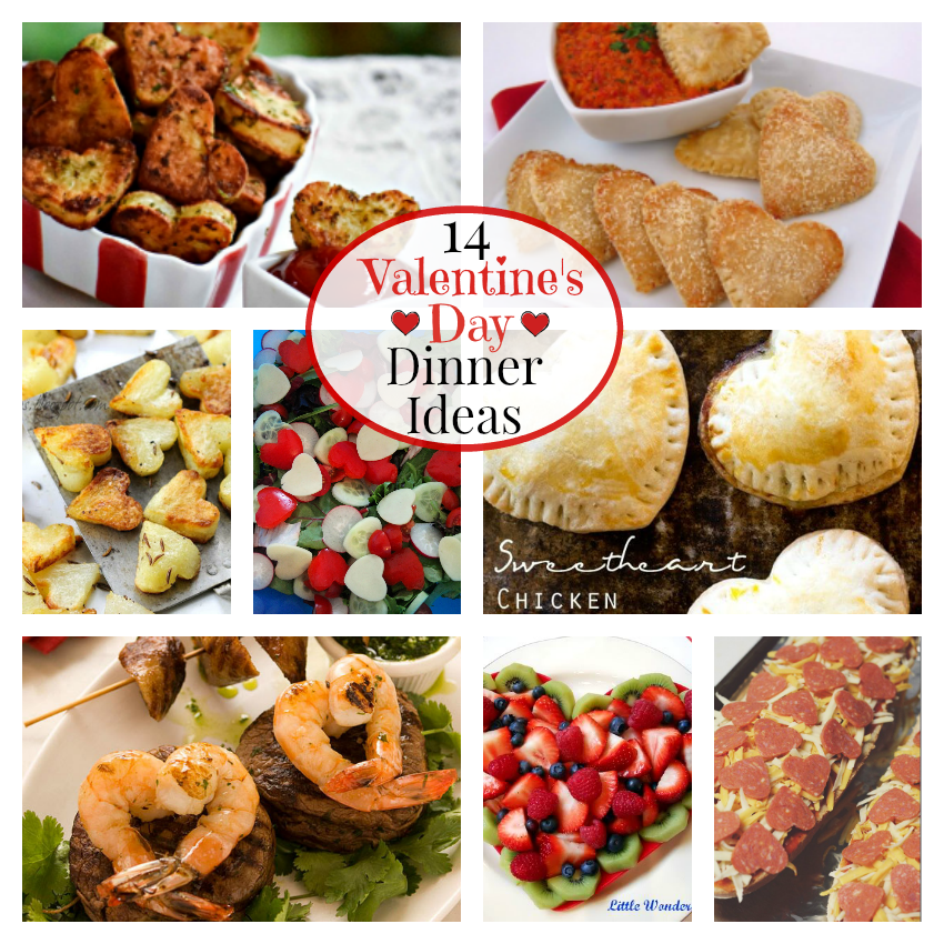 14 valentine 39 s day dinner ideas fun squared for Valentines dinner party ideas