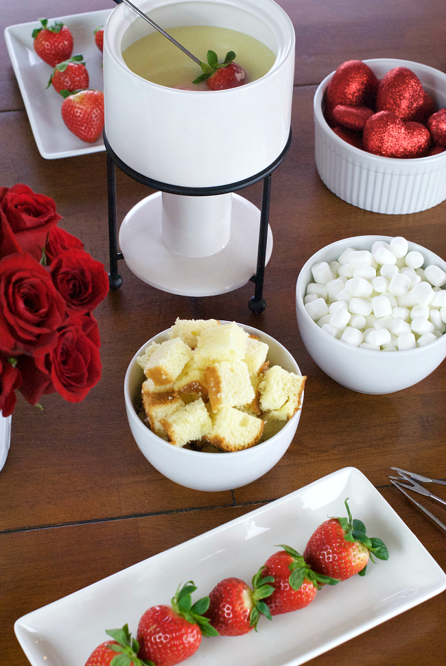 Valentine's Day Fondue Party
