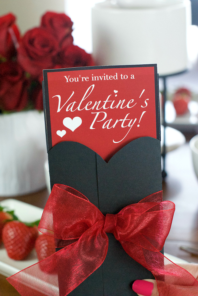 Free Printable Valentine's Party Invitations