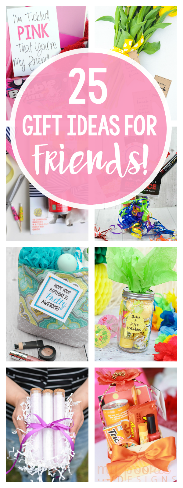 Cute Gift Ideas For Best Friends All Occasions Birthdays Thank You Holidays