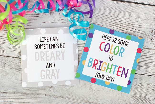Brighten Your Day Gift Tags