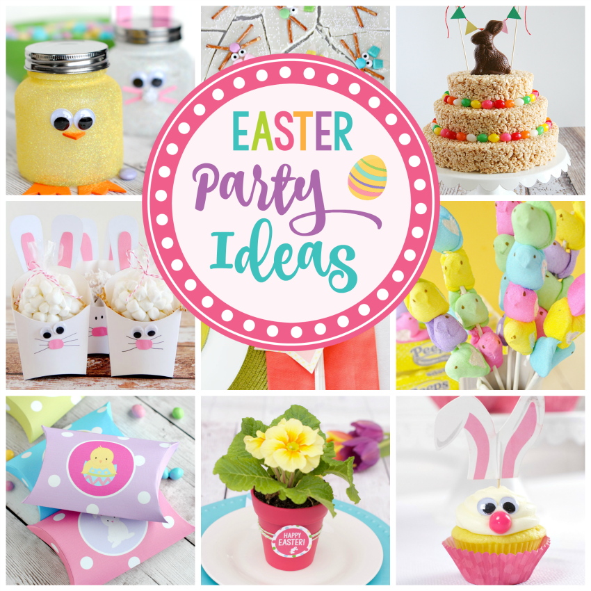 Easter crafts and food