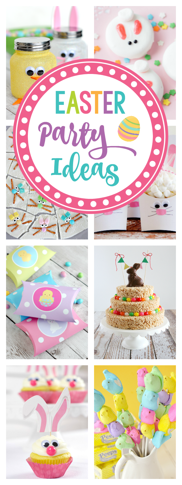 25 Easter Party Ideas for Kids-Games, Decorations, Food, Activities and Favors