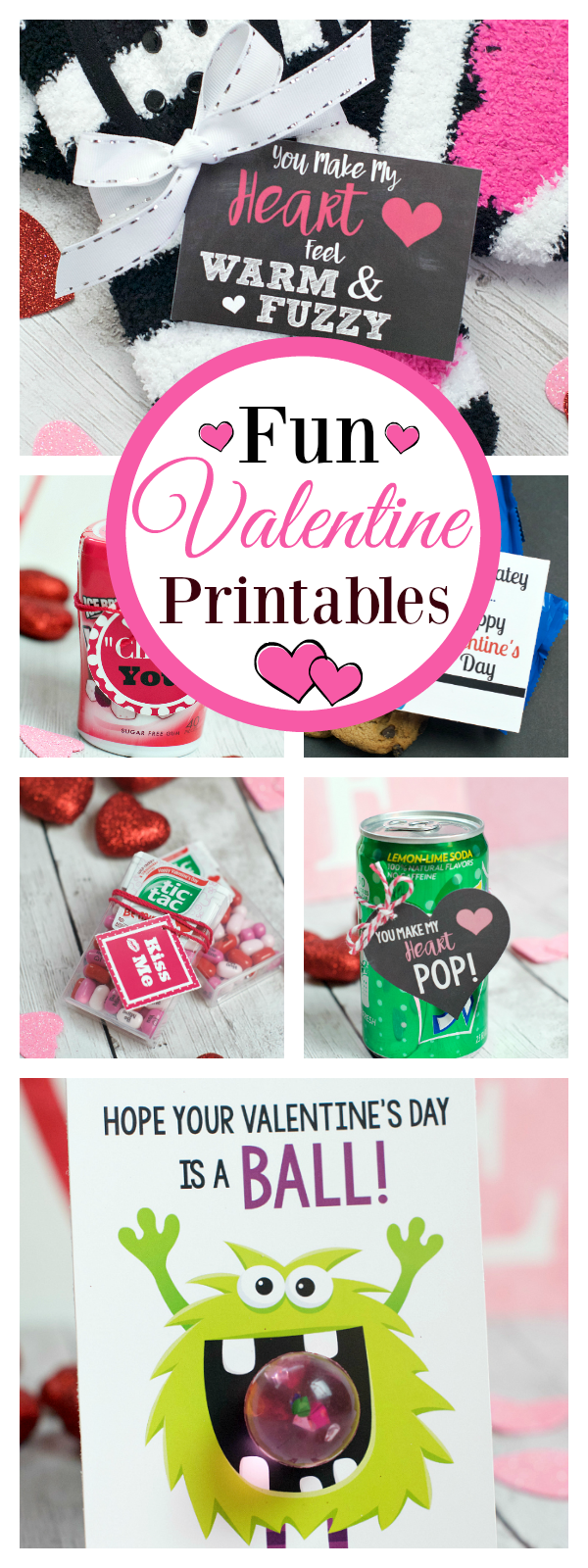 Fun Free Printable Valentines