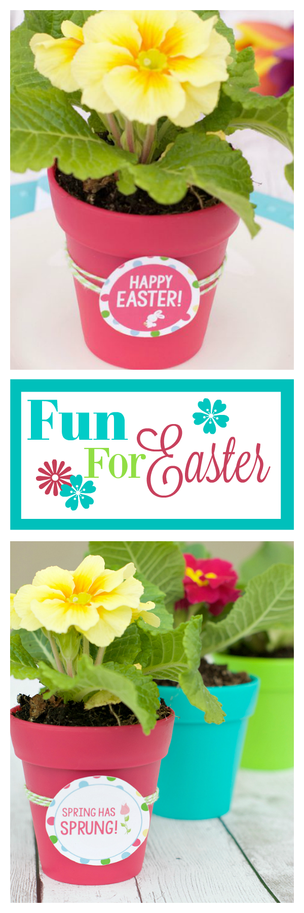 Easter Tablescape Idea and Fun Gift Idea