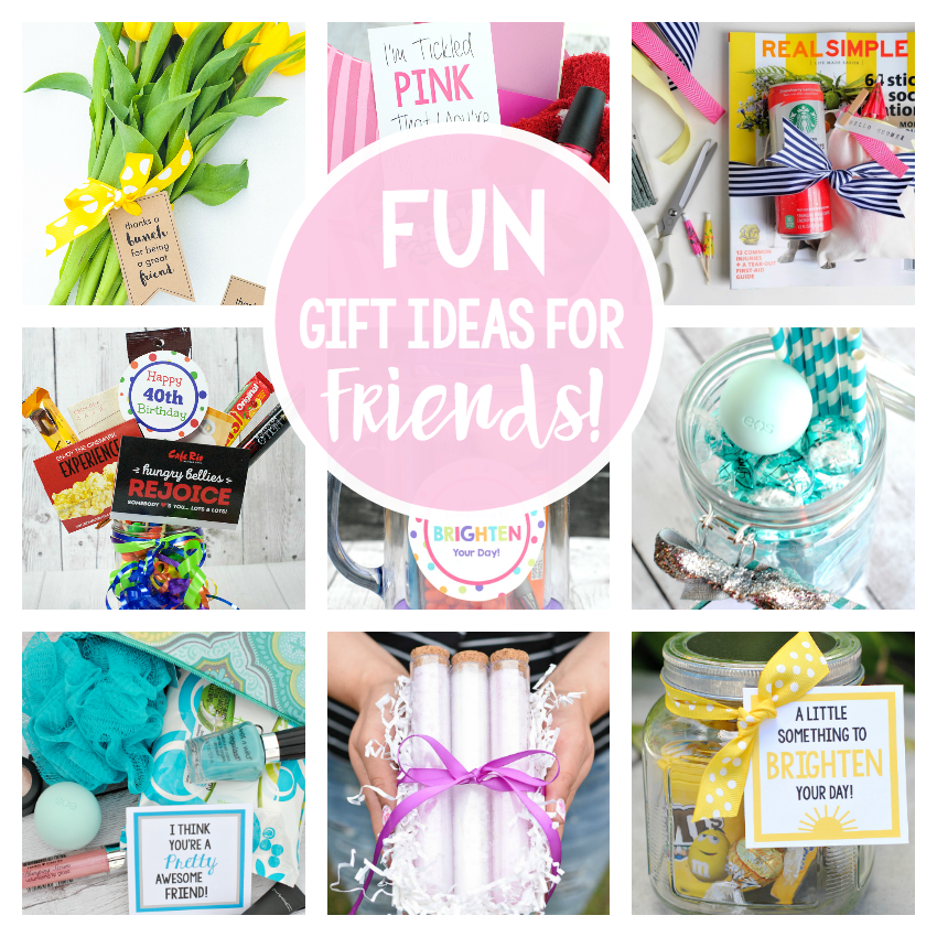25 fun gifts for best friends for any occasion fun squared for Cute small gifts for friends