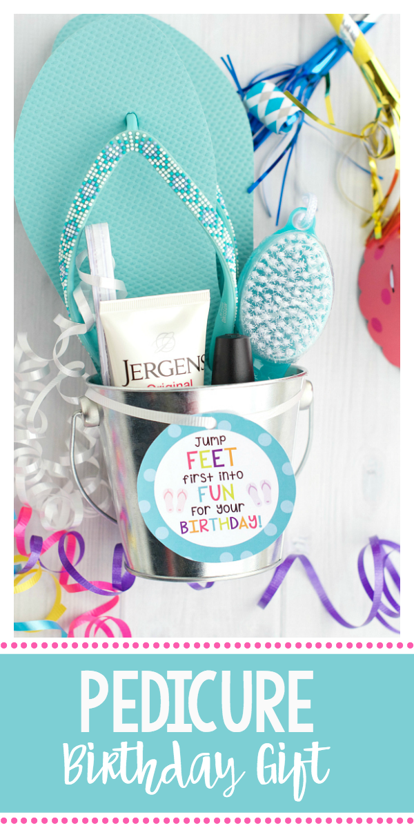 Pedicure Gift Basket Cute Birthday For Friends