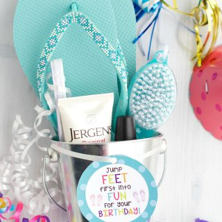 Pedicure Birthday Gift