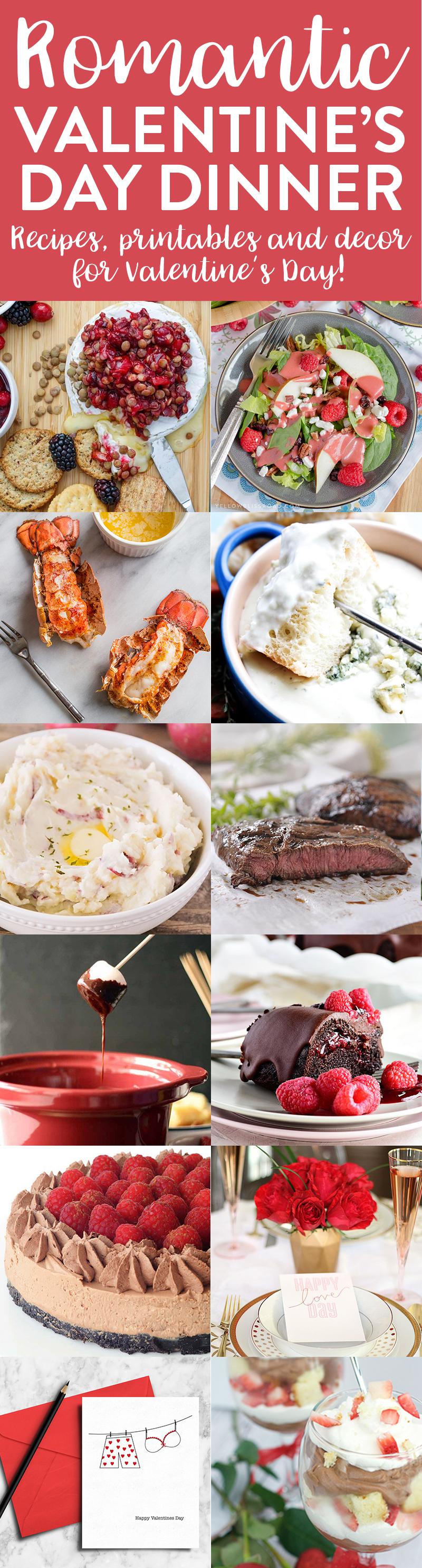 Romantic Valentines Day Dinner Ideas