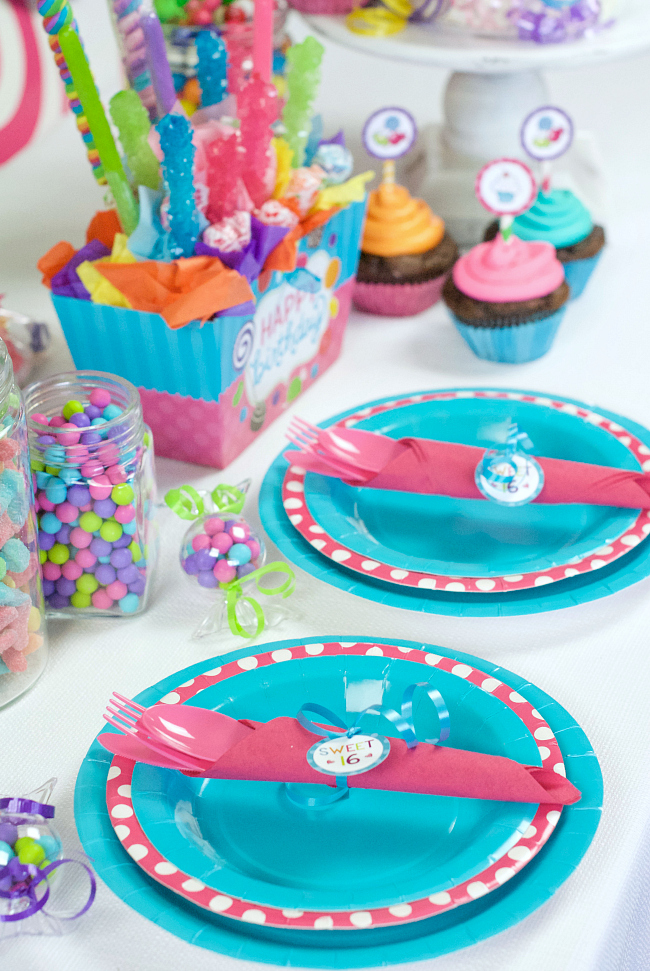Sweet 16 Party Idea