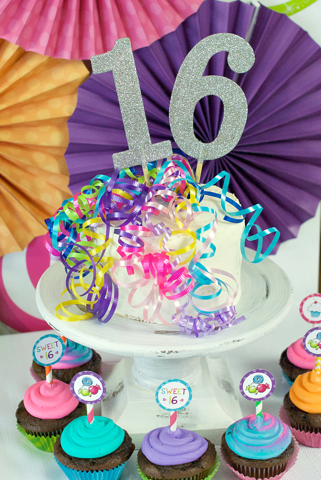 Sweet 16 Birthday Party Ideas Throw A Candy Themed Party