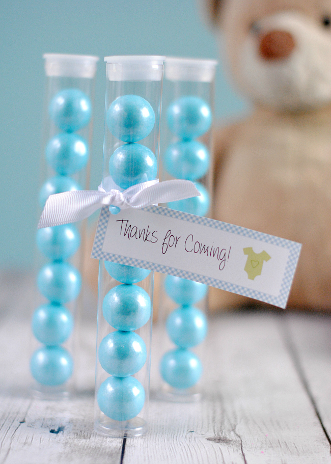 Baby Shower Favor Ideas for Boys Shower