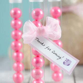 Cute Gumball Baby Shower Favors