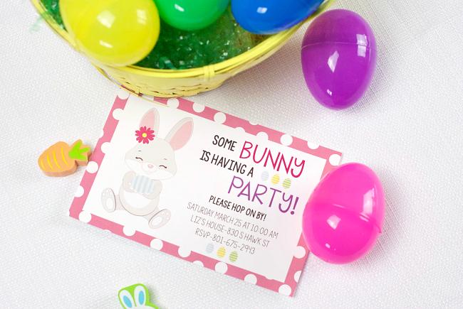 easter party invitations - Easter Party Invitations