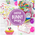 """Some Bunny Loves You"" Easter Party Idea"