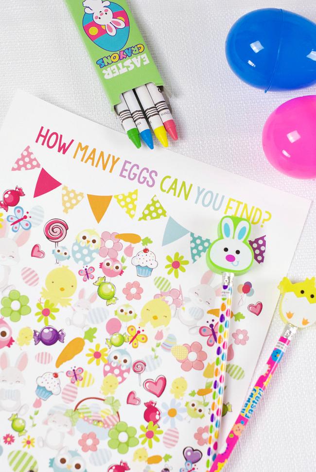 Printable Easter Egg Hunt Game for Kids