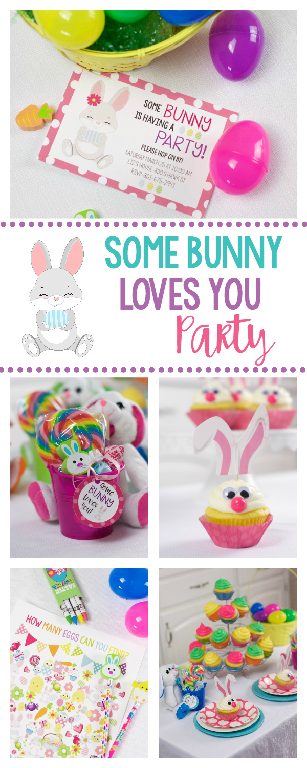 Cute Easter Party Ideas-Games, Favors, Invitations and Cupcakes