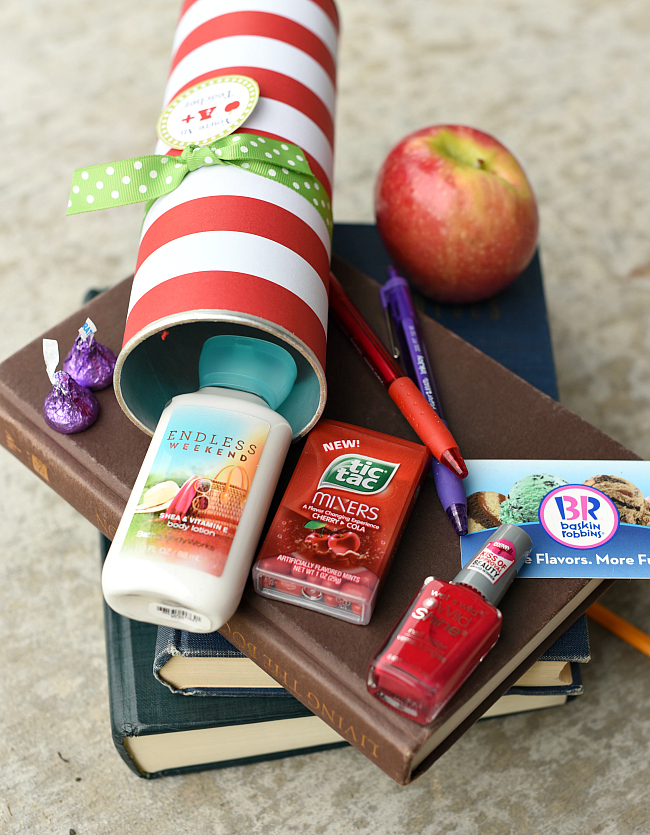 creative teacher appreciation gift