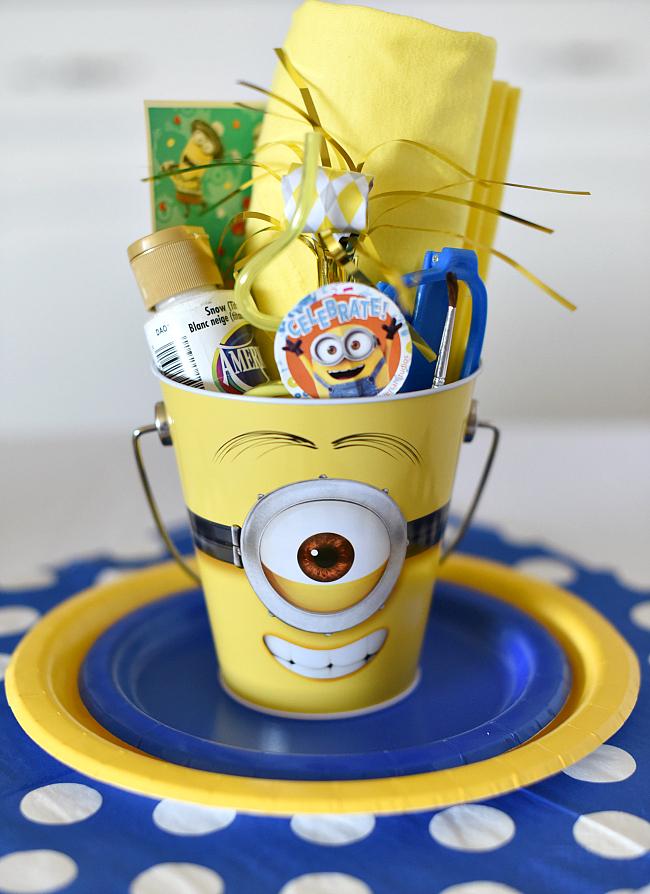 Minion Birthday Party Favor