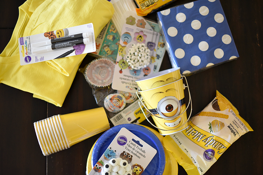 Minion party supplies