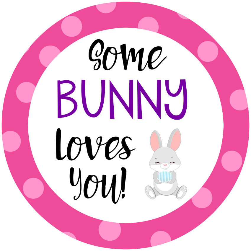 Easter Party Favor Tags