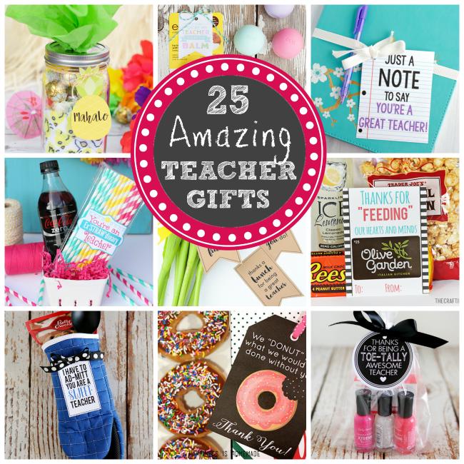 Teacher Gifts for Teacher Appreciation