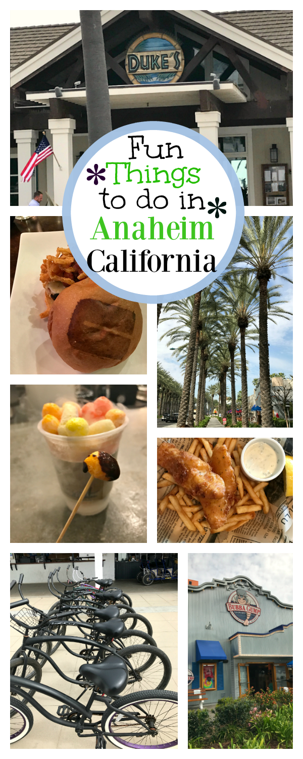 Anaheim Vacation Ideas