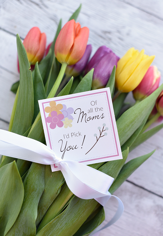 Simple Gifts for Mom